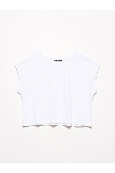 Dilvin 3431 T Kol T-shirt-beyaz