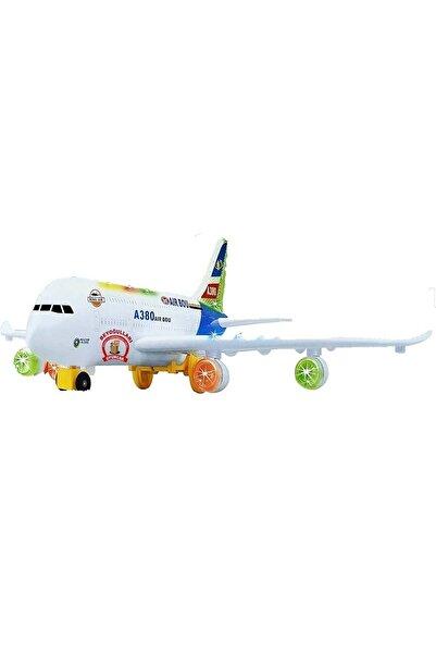 Pasifik Air Bus A380 Dev Boy Pilli Işıklı Müzikli Uçak Lx133