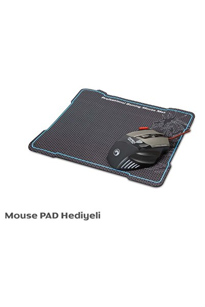 Everest Sgm-x7 Pro Siyah 7200dpi Customizable Gaming Oyuncu Mouse