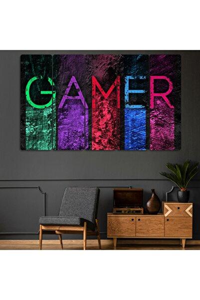 Evonya 5 Parçalı Gamer Tablo