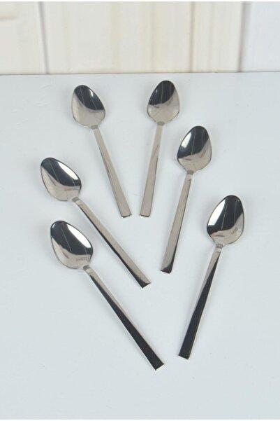 Doğuş Çay Kaşığı Çubuk Model Sade 12 Li Kutu Paslanmaz Çelik