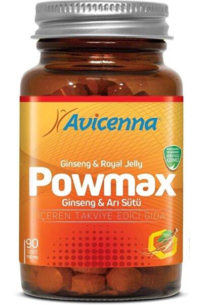 Avicenna Powmax Ginseng & Arı Sütü 30 Tablet