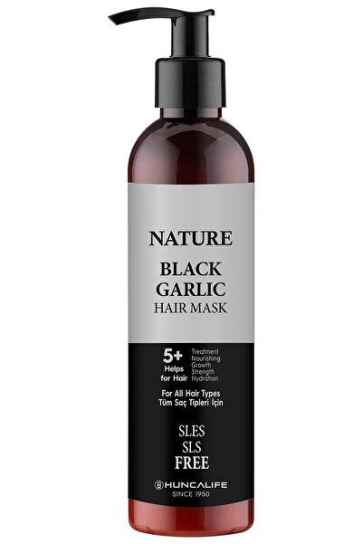 Huncalife Nature Siyah Sarımsaklı Saç Maskesi 250 Ml