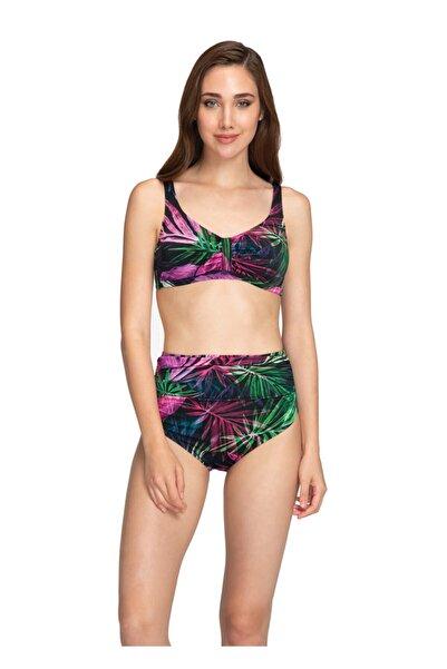 Dagi Kadın Siyah Luplu Bikini Takımı