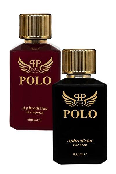 PAUL POLO Afrodizyak Kadın Ve Erkek Parfüm 100 Ml 2'li Set