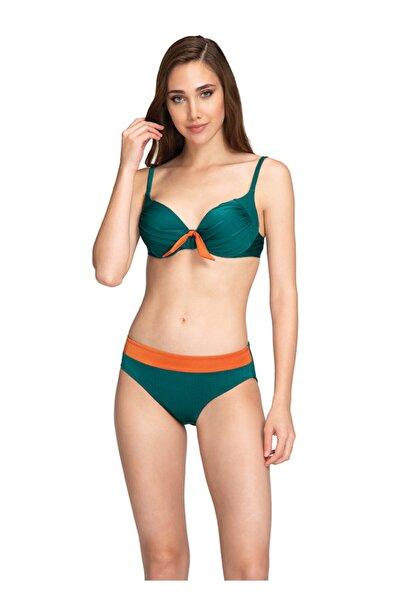 Dagi Kadın Yeşil Kaplı Bikini Takımı