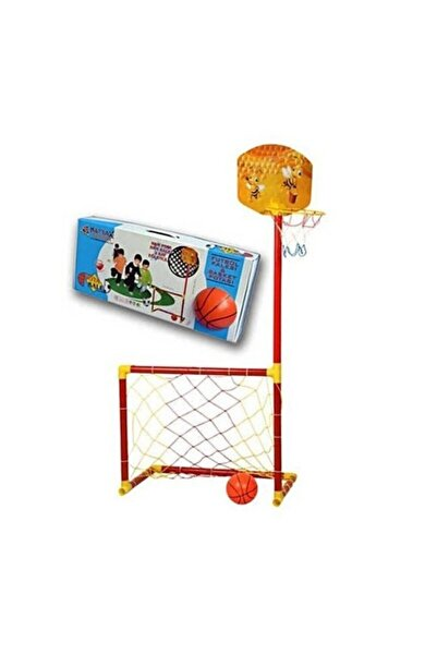 Akçiçek Oyuncak Yayınları Futbol Kalesi Ve Basket Potası