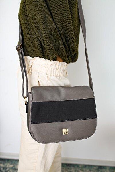 Limoya Bags Kadın Gri  Omuz Çantası