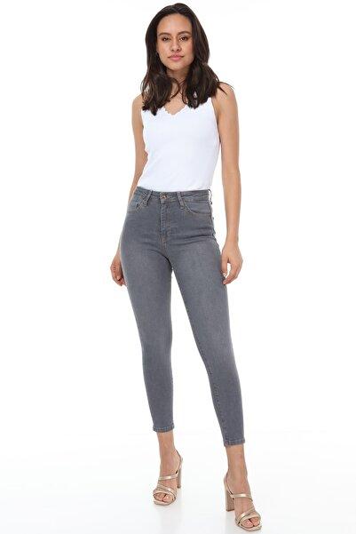 Rodi Jeans Kadın Gri Lara 449 Jean
