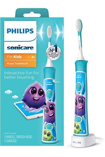 Philips Sonicare Çocuklar Için Sonicare Şarj Edilebilir Elektrikli Diş Fırçası, Aqua Mavisi