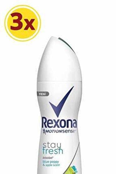 Kadın Deodorant Sprey Stay Fresh 150 Ml X 3
