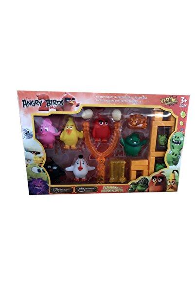 Angry Birds Emre Oyunca Sapanlı Aparatlı Ve 6'lı Figürlü Set