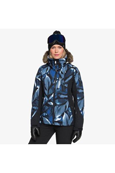Roxy Kadın Mavi Jet Ski Premium Kayak Ve Snowboard Montu