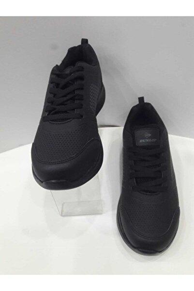 DUNLOP Unisex Siyah Spor Ayakkabı