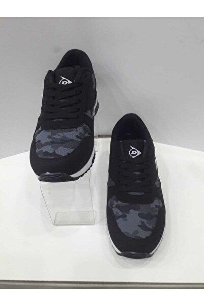 DUNLOP Unisex Siyah Günlük Spor Ayakkabı
