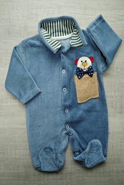 Bebek Exclusive Sıcacık Kadife Bebek Tulum