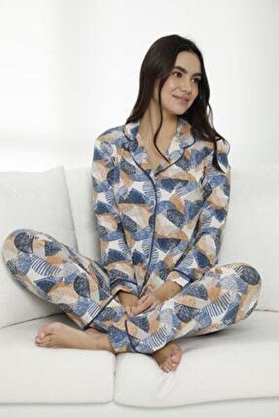 Siyah İnci Pijama Takımı