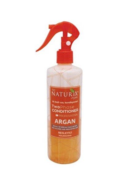 Bakımsız Saçlara Argan Yağlı Fön Suyu Iki Fazlı Sıvı Saç Kremi 400 ml Saç Kondisyoneri Kolay Tarama