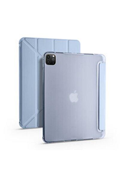 zore Apple Ipad Pro 11 2020 Kılıf Stand Olabilen Kalem Bölmeli Korumalı Tri Folding Model