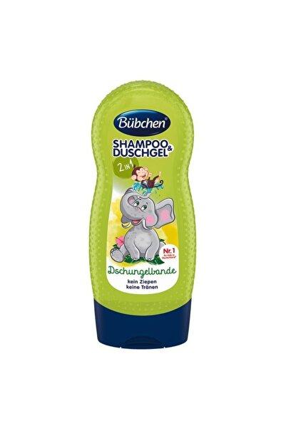 Bübchen Çocuk Şampuan&duş Jeli Tropıc Jungle 230ml