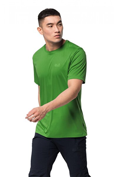 Jack Wolfskin Erkek  Tech T M T-shirt 1807071