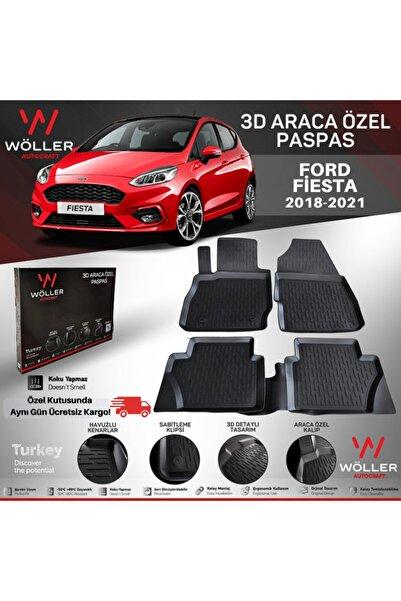 wöller Ford Fiesta Uyumlu Paspas 2018 2021 Arası 3d Havuzlu Paspas