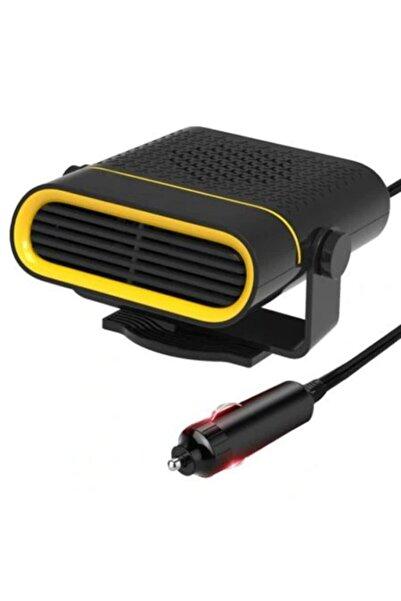 Master Cep St-6607 12v Portatif Araç-oto Isıtıcı Fan Cam Buğu Çözücü - Siyah