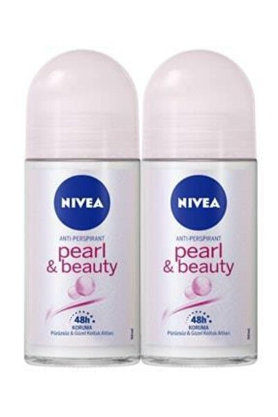 Nivea Roll-on Bayan 50 ml Pearl Beauty X2