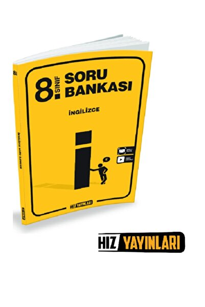 Hız Yayınları 8. Sınıf Ingilizce Soru Bankası 2021