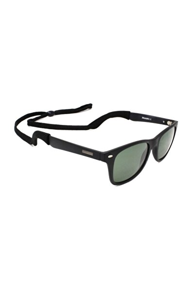 JULIANO Unisex Siyah Ayarlanabilir Sporcu Gözlük Ipi