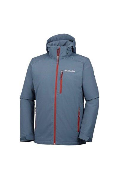 Columbia Erkek Mavi Gate Racer™ Yalıtımlı Softshell Ceket