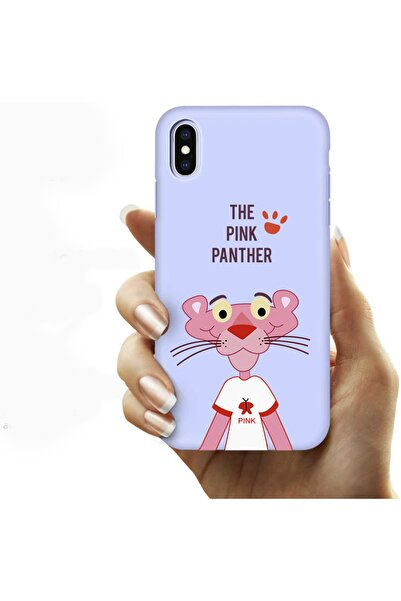 shoptocase Iphone Xs Lila Lansman The Pink Panther Telefon Kılıfı