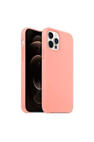 Buff Iphone 12 / 12 Pro Rubber Fit Kılıf Pembe