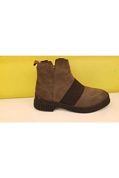 Marina Kadın Kahverengi Süet Ayakkabı