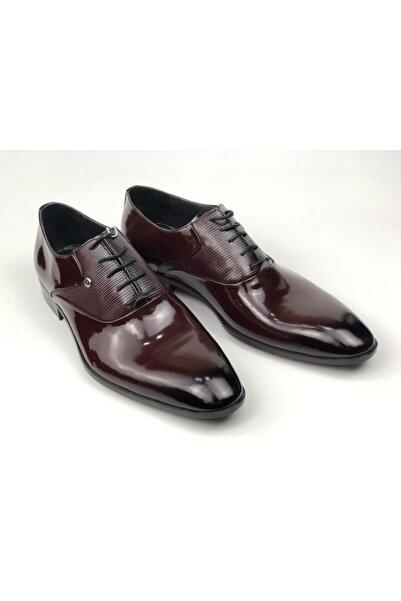 Pierre Cardin Men Erkek Bordo Klasik Takım Elbise Ayakkabı