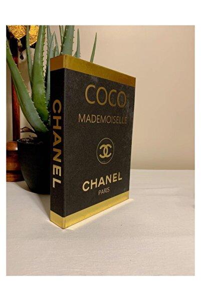 LAST TOUCH INTERIORS Chanel Coco Mademoıselle Dekoratif Kitap Kutu