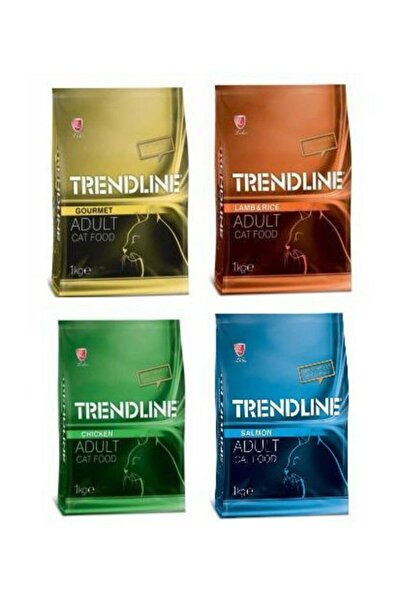 Trendline Mix Kedi Maması - 1 kg X 4 Adet