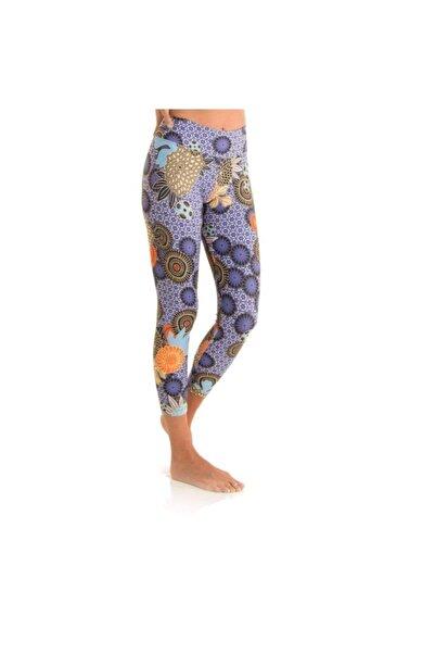 Yoga Zero Kadın Desenli Yoga Tayt