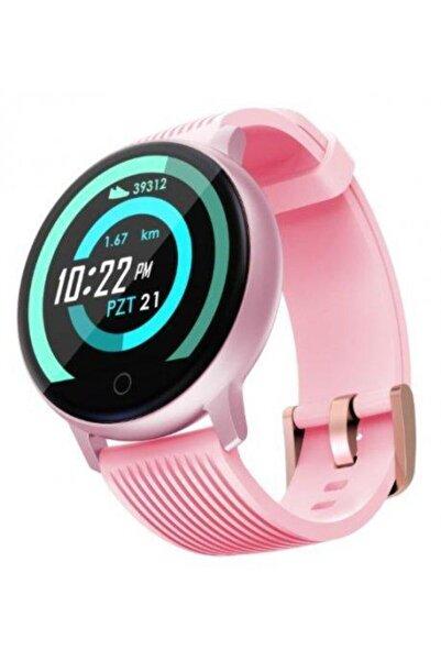 LENOVO Hw10h Bluetooth Smart Watch Akıllı Saat Smart - Pembe