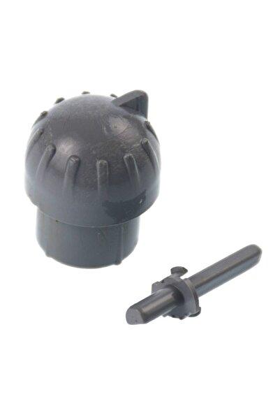 Demirdöküm Compact Hermetik Şofben Düğmesi - Gri