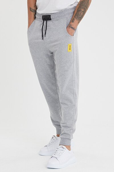 MaesSE Erkek gri günlük eşofman altı jeans fashion