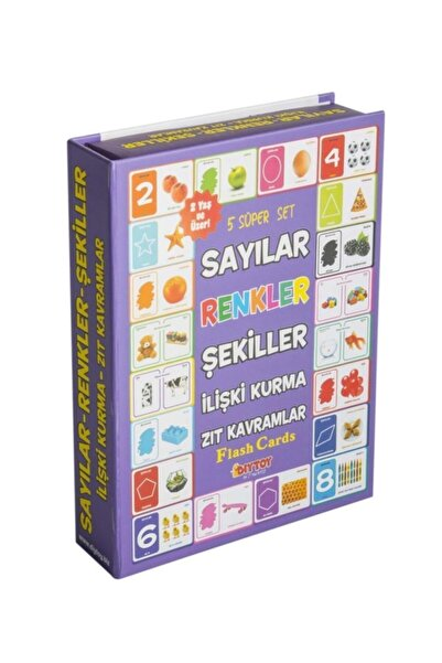 DIY Toys Dıy-toy Flash Cards Süper Set