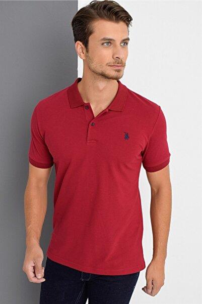 Dewberry Erkek Bordo T-Shirt - 2090001T8561