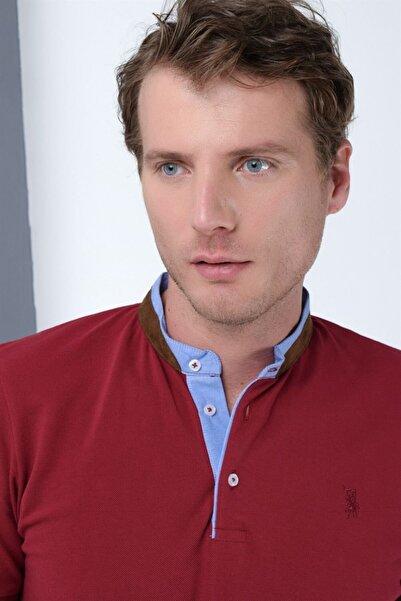 Dewberry Erkek Bordo T-Shirt - 2090001T8564