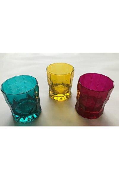 Paşabahçe Workshop Prizma Su Bardağı Renk Yağmuru