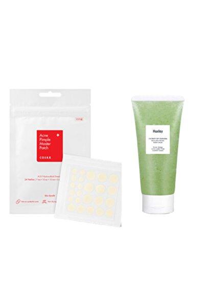 Cosrx Acne Pimple 24 Sivilce Bandı+huxley Healing Mask,yatıştırıcı Sahra Kaktüsü Spa Maskesi 120 G