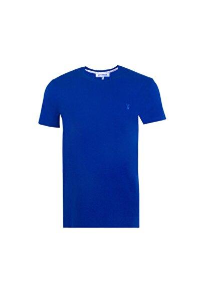 Ottomoda Erkek T-shirt Mavi