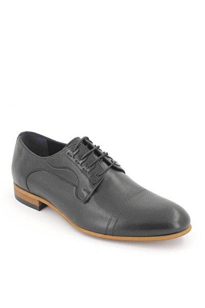 Venüs Erkek Siyah Hakiki Deri Klasik Ayakkabı
