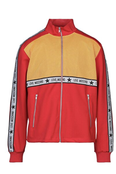 Moschino Love Fermuarlı Sweatshirt