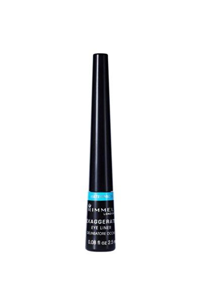 RIMMEL LONDON Exaggerate Waterproof Liquid Eyeliner Black